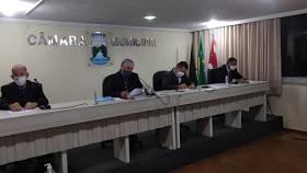 07-37-40-1 Câmara de Monteiro aprova por unanimidade LDO-Lei de Diretrizes Orçamentárias do município para 2021