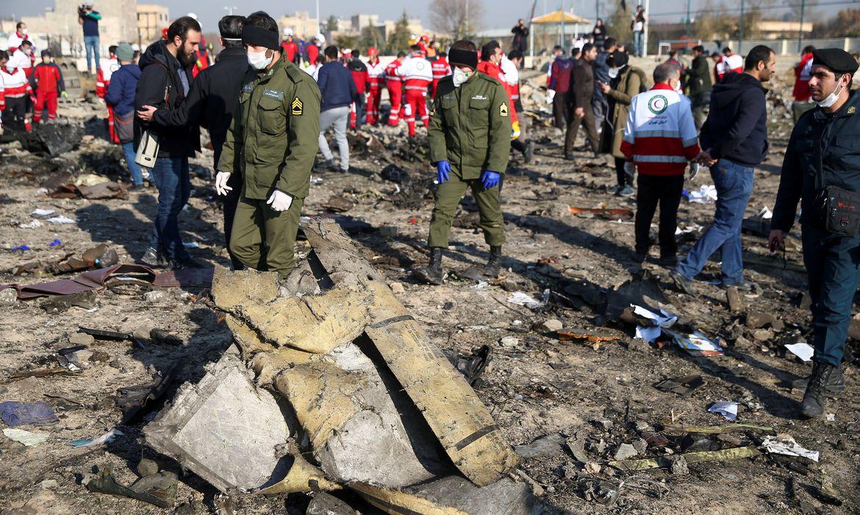 AVIAO-QUEDA Irã: sequência de erros causou queda de avião ucraniano