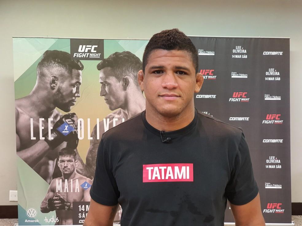DURINHO-UFC Gilbert Durinho testa positivo para Covid-19 e está fora da luta contra Kamaru Usman no UFC 251
