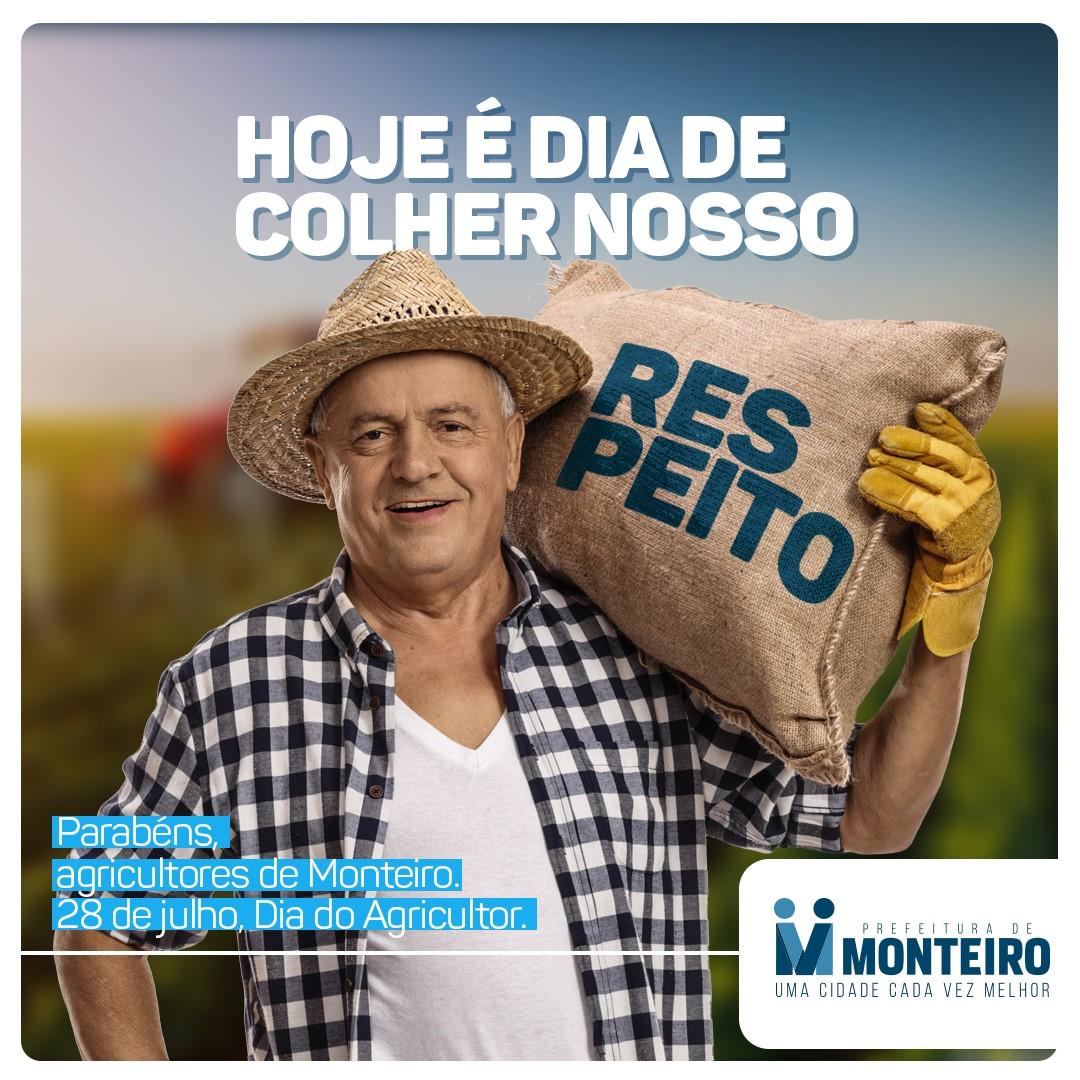 Dia-do-Agricultor SEMANA DO AGRICULTOR: Monteiro investe em Silagem e produção chega a 350 Toneladas no primeiro semestre