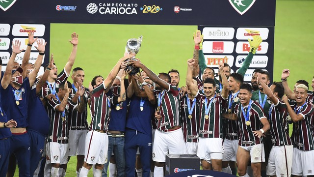 FLUMINENSE Fluminense bate Flamengo nos pênaltis, fatura a Taça Rio