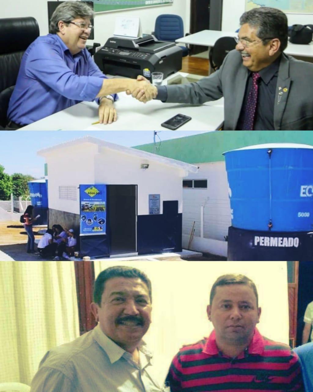 IMG-20200723-WA0322 Ex-prefeito Zé Arnaldo, consegue dois dessalinizadores para a zona rural de Amparo