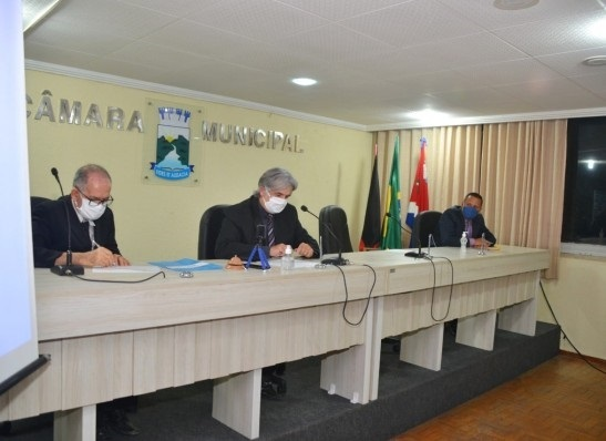 MONTEIRO Câmara Municipal de Monteiro retoma sessões ordinárias com todas as medidas de prevenção