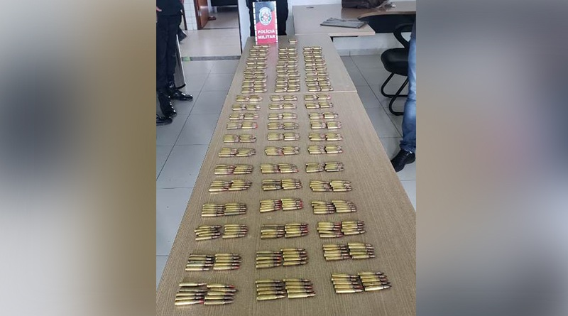 MUNIÇÕES Polícia Militar apreende quase 2 mil munições durante esta semana em João Pessoa