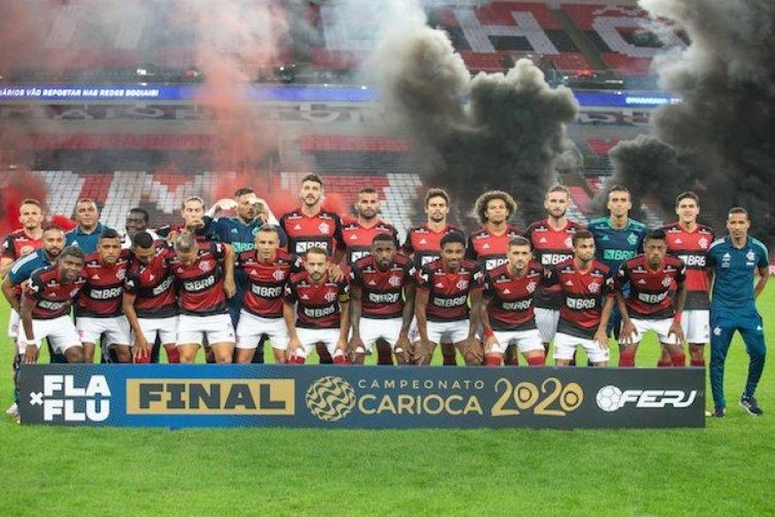 flamengo Flamengo é campeão de Estadual marcado por pandemia e confusões