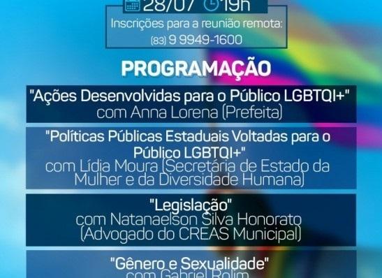 lgbtq SMDS promove 2ª Roda de diálogos sobre as Políticas Públicas voltadas para o público LGBTQ+