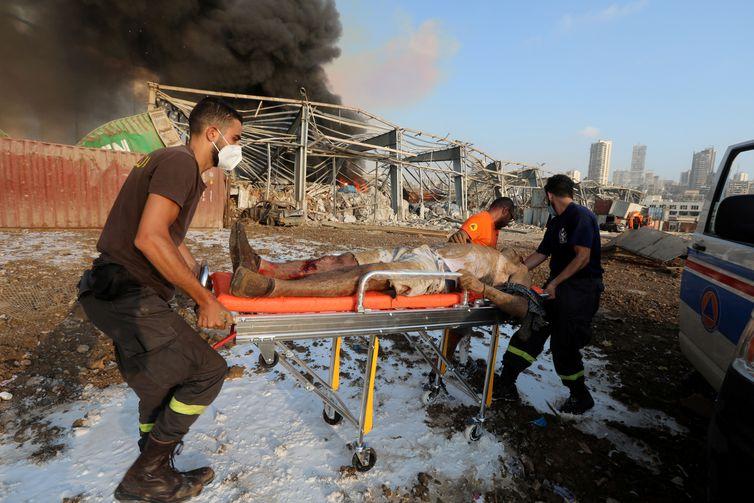 Beirute-libano Embaixada do Líbano pede ajuda humanitária após explosão em Beirut