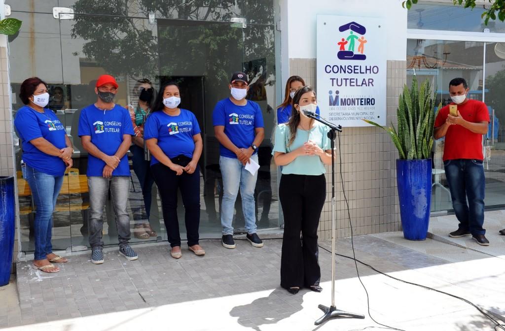 INAGURAÇÃO-SEDE-COSELHO-TUTELAR-MONTEIRO Nova sede do conselho tutelar de Monteiro é entregue pela prefeita Anna Lorena
