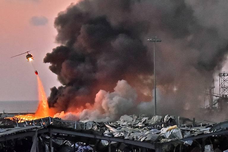 LIBANO Saldo de mortos em explosão no Líbano passa de 100; há 4.000 feridos