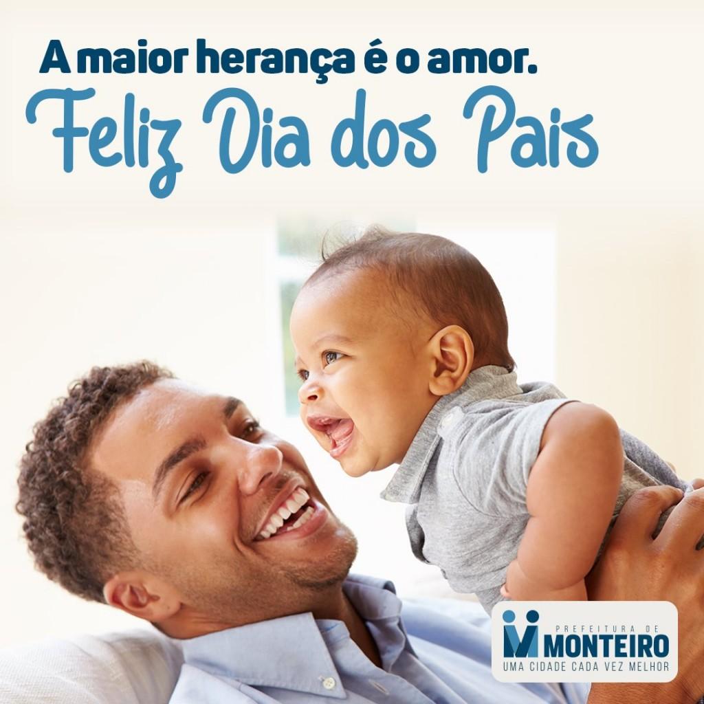Mensagem-dia-dos-pais Prefeita de Monteiro parabeniza monteirenses pelo dia dos Pais, confira a nota