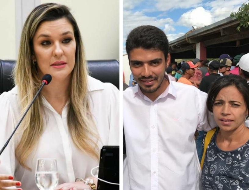 SERGIO-SAO-JOAO-DO-TIGRE Esposa de líder político Sérgio de Freitas Assume comando do PSDB em São João do Tigre PB.