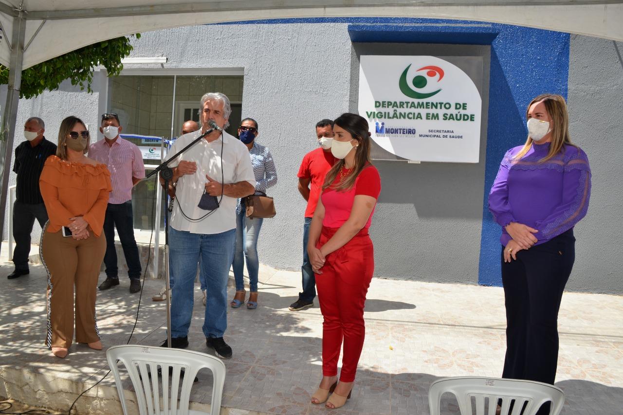 Vigilância-em-Saúde-1 Anna Lorena entrega nova sede do Departamento da Vigilância em Saúde de Monteiro
