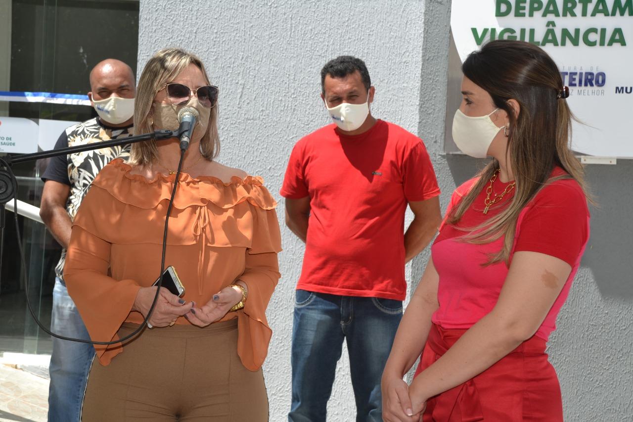 Vigilância-em-Saúde-2 Anna Lorena entrega nova sede do Departamento da Vigilância em Saúde de Monteiro