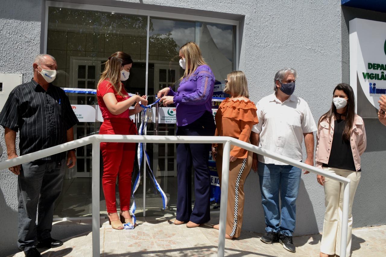 Vigilância-em-Saúde-5 Anna Lorena entrega nova sede do Departamento da Vigilância em Saúde de Monteiro