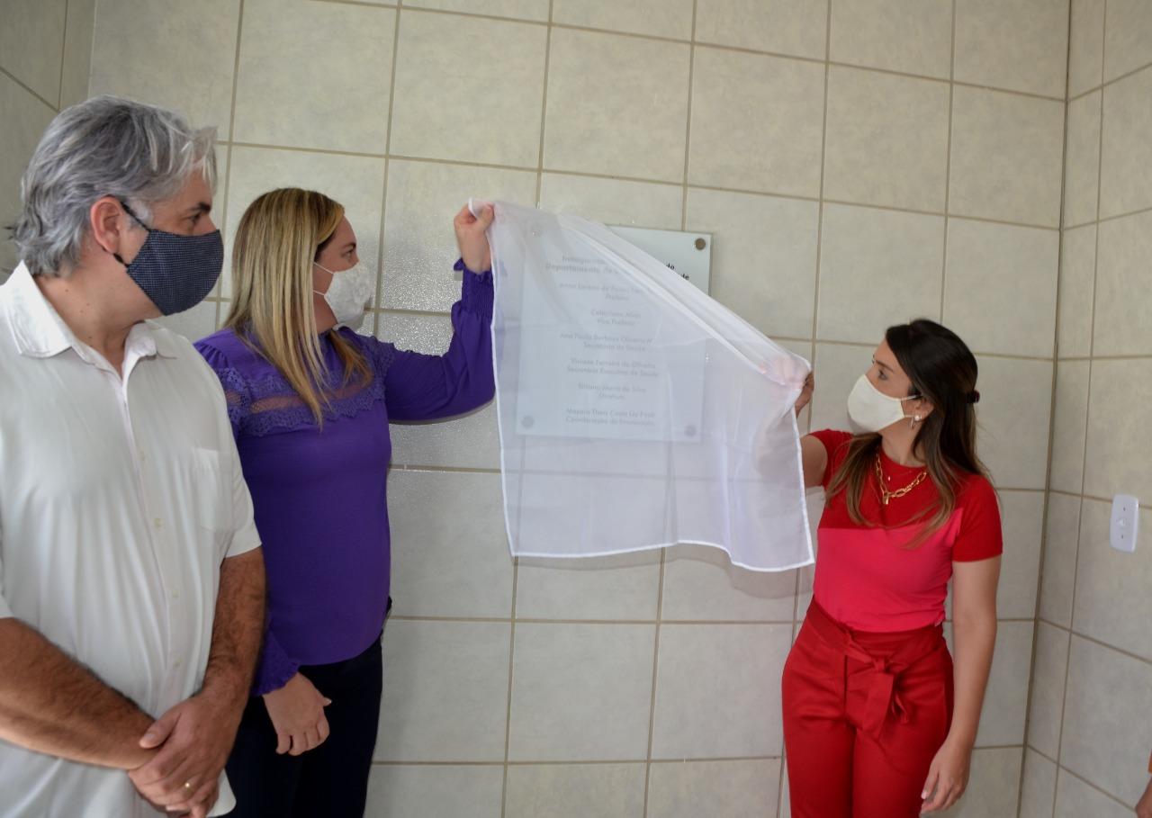 Vigilância-em-Saúde-6 Anna Lorena entrega nova sede do Departamento da Vigilância em Saúde de Monteiro