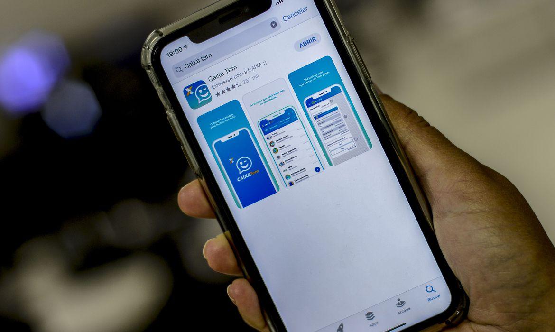 aplicativo_caixa_tem3276 Caixa credita na segunda saque emergencial para nascidos em setembro