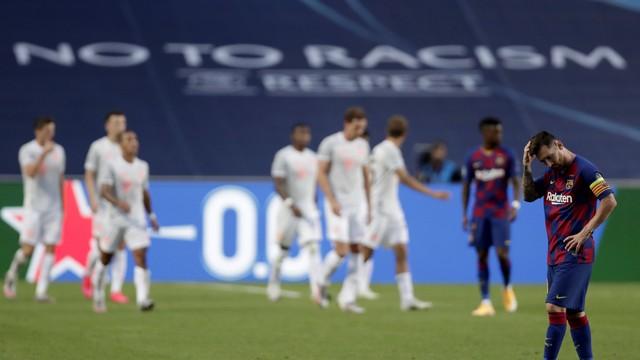 barcelona Bayern atropela o Barcelona e vai à semifinal da Champions