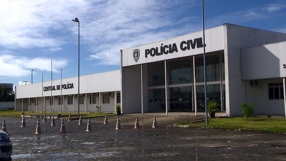 central-de-policia-joao-pessoa-pb Quatro homens do município de Serra Branca são presos suspeitos de participar de quadrilha de roubo de carros, na Paraíba