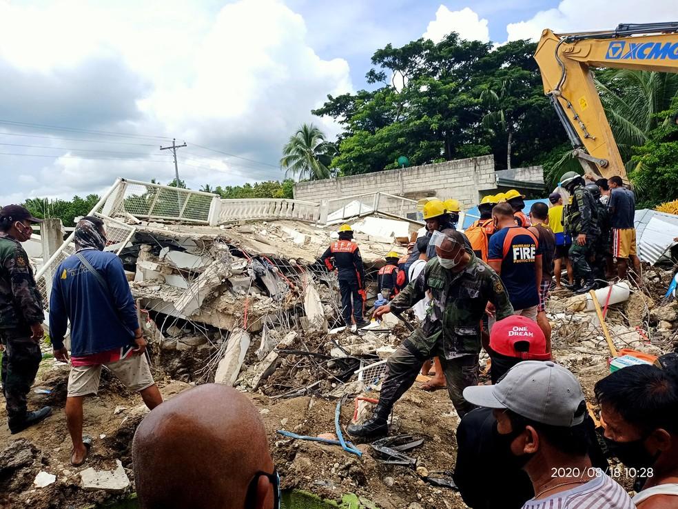 filipinasTERREMOTO Terremoto nas Filipinas deixa um morto e dezenas de feridos