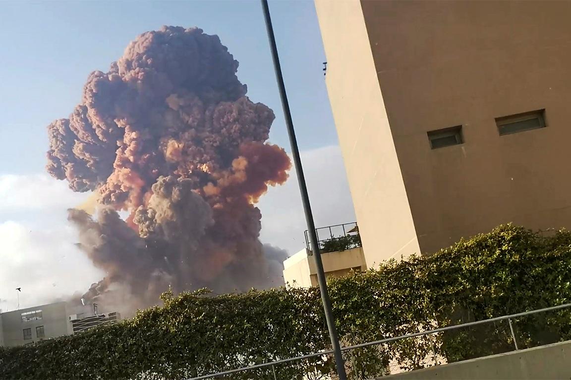libano-1 Pressionado, governo do Líbano renuncia após explosão e protestos
