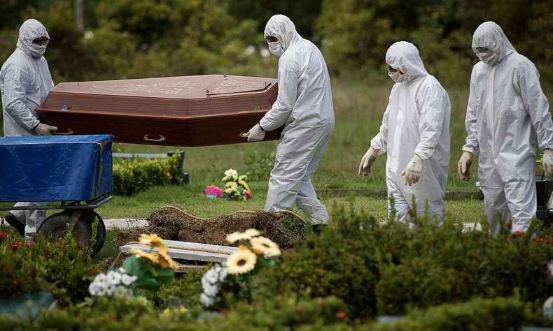 mortes-covid-19 Brasil registra 562 mortes pela Covid-19 e mais de 22 mil casos, mostra consórcio de imprensa
