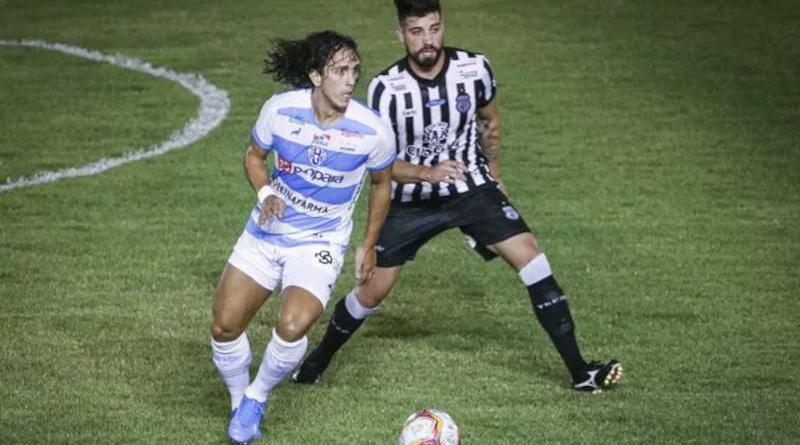 paysandu Treze tem jogador expulso e perde para o Paysandu pela Série C
