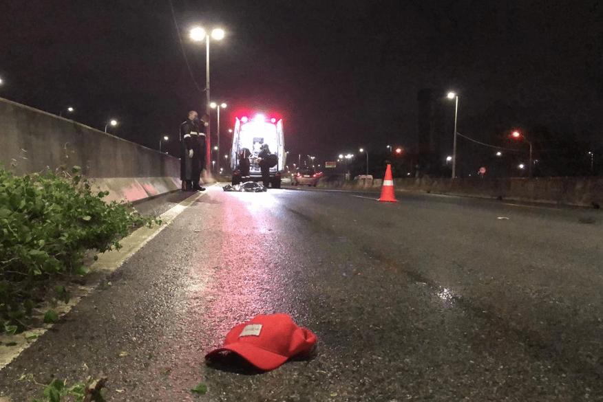samu_atropelamento_t5 Corpo de idoso é encontrado às margens de rodovia federal em João Pessoa