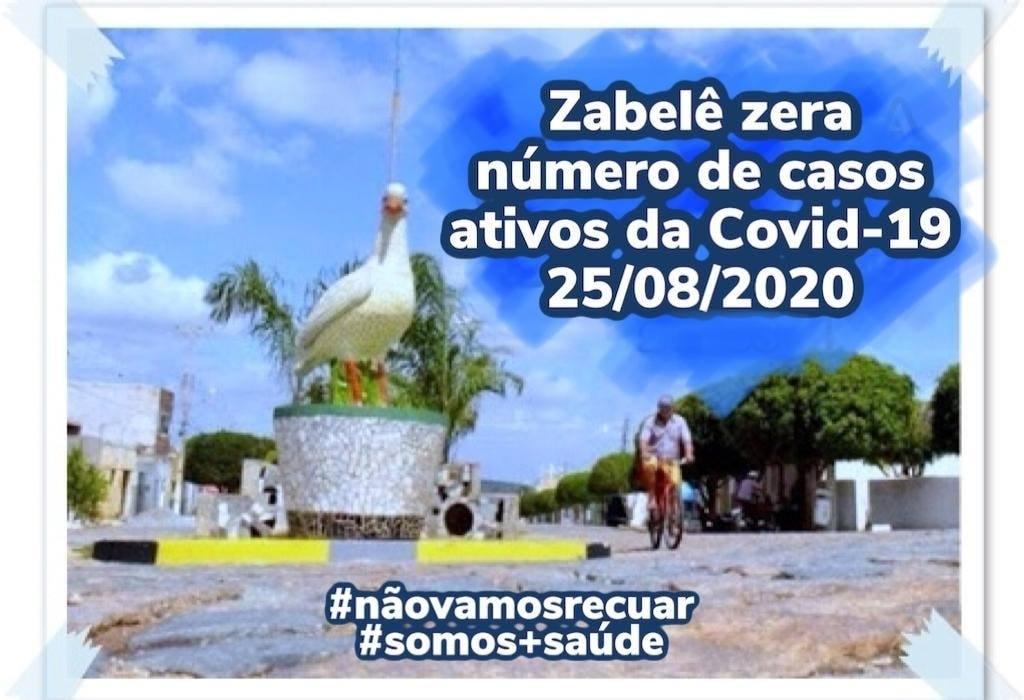 zabele-covid-19 Zabelê zera número de casos ativos da Covid-19