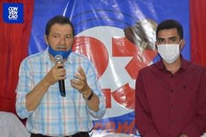 07-35 Camalaú: Aristeu Chaves e Bibi registram candidaturas na Justiça Eleitoral