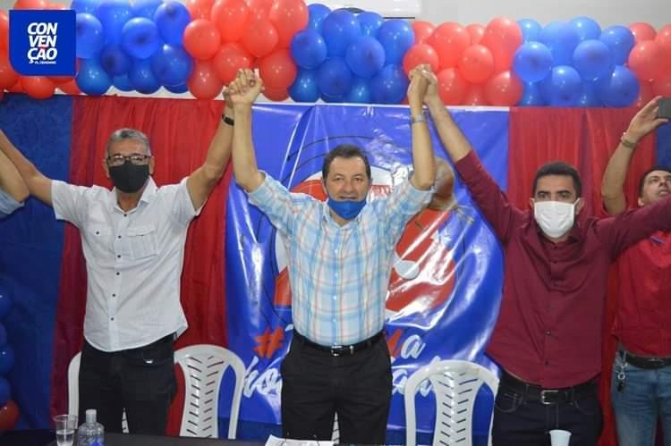 FB_IMG_1599441762840 Aristeu Chaves e Bibi são oficializados candidatos a prefeito e a vice de Camalaú.