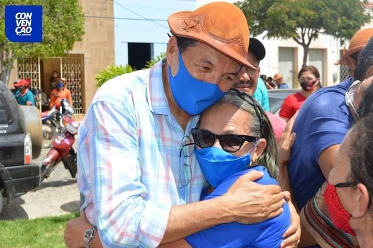 FB_IMG_1599441767515 Aristeu Chaves e Bibi são oficializados candidatos a prefeito e a vice de Camalaú.