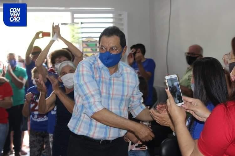 FB_IMG_1599441775768 Aristeu Chaves e Bibi são oficializados candidatos a prefeito e a vice de Camalaú.