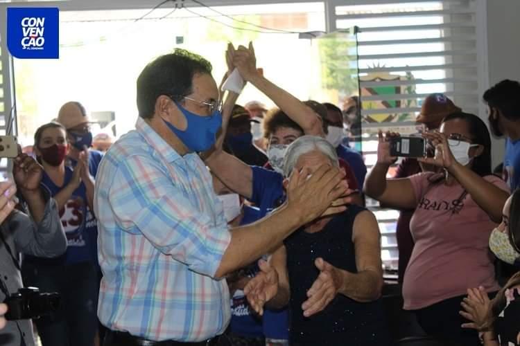 FB_IMG_1599441809306 Aristeu Chaves e Bibi são oficializados candidatos a prefeito e a vice de Camalaú.