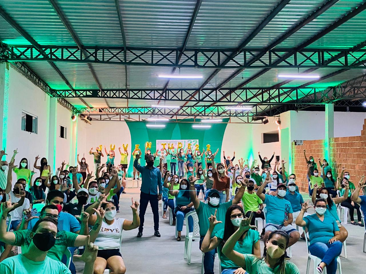 IMG-20200903-WA1725 Pré-candidatos à reeleição, Lorena e Celecileno participam de reunião com a juventude
