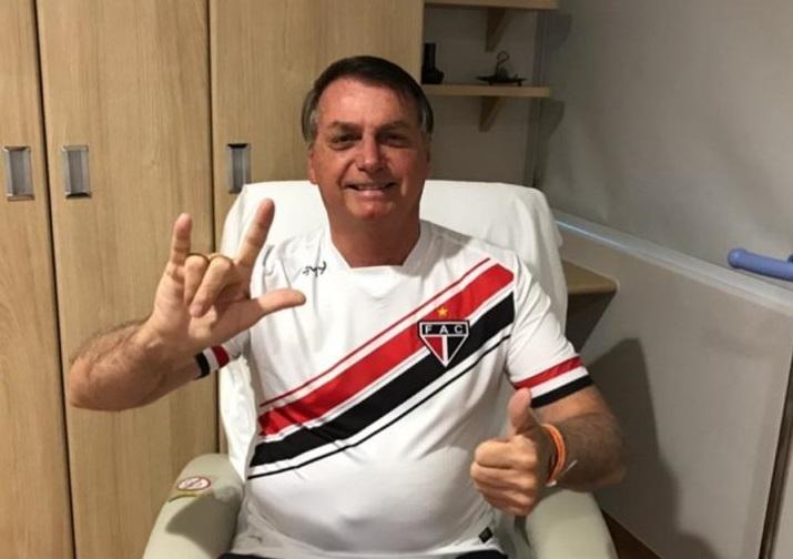 bolsonaro Bolsonaro diz que está 100% e acredita em alta ainda hoje