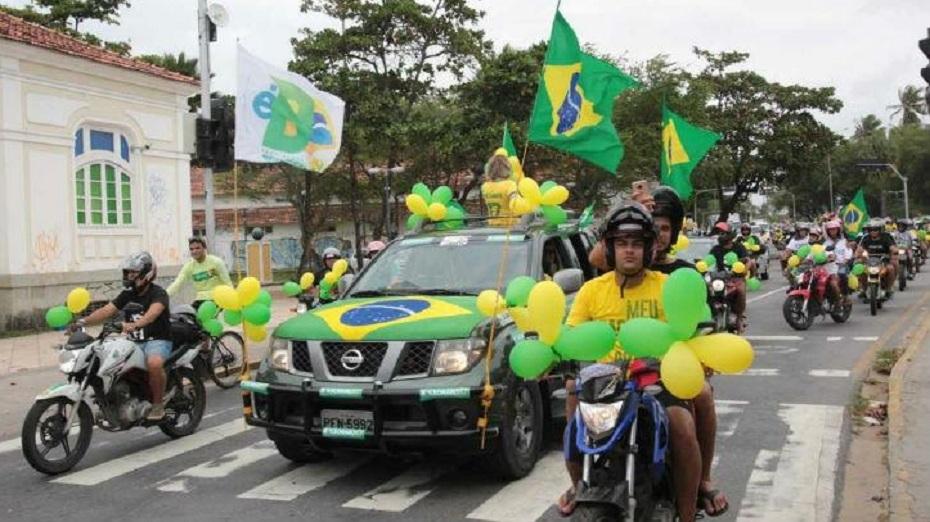 carreata-bolsonaro-foto-divulgacao Juíza proíbe comícios, carretas e caminhadas em cinco cidades do Cariri. Veja quais são