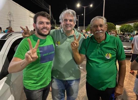 chuta-cajo-menezes Vereadores Chuta e Raul Formiga anunciam apoio a reeleição de Cajó Menezes