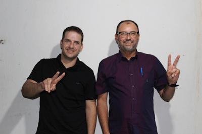image-1 Helder Trajano e Chico de Eulina registram candidaturas na Justiça Eleitoral