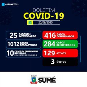 obito-sume Sumé no Cariri paraibano registra mais 01 óbito por coronavírs neste domingo(20)