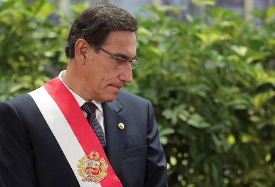 presidente-peru Presidente do Peru enfrenta votação de impeachment após Justiça negar adiamento