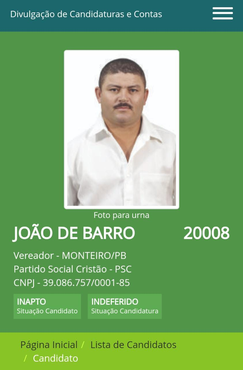 IMG-20201023-WA0269 Justiça Eleitoral indefere 21 pedidos de registros de candidatos a vereador do grupo de João Henrique