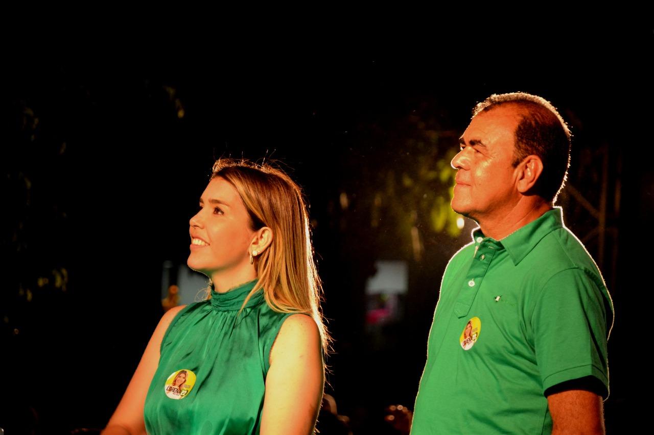 Lorena-Cele Anna Lorena e Celecileno têm candidaturas homologadas pela Justiça Eleitoral
