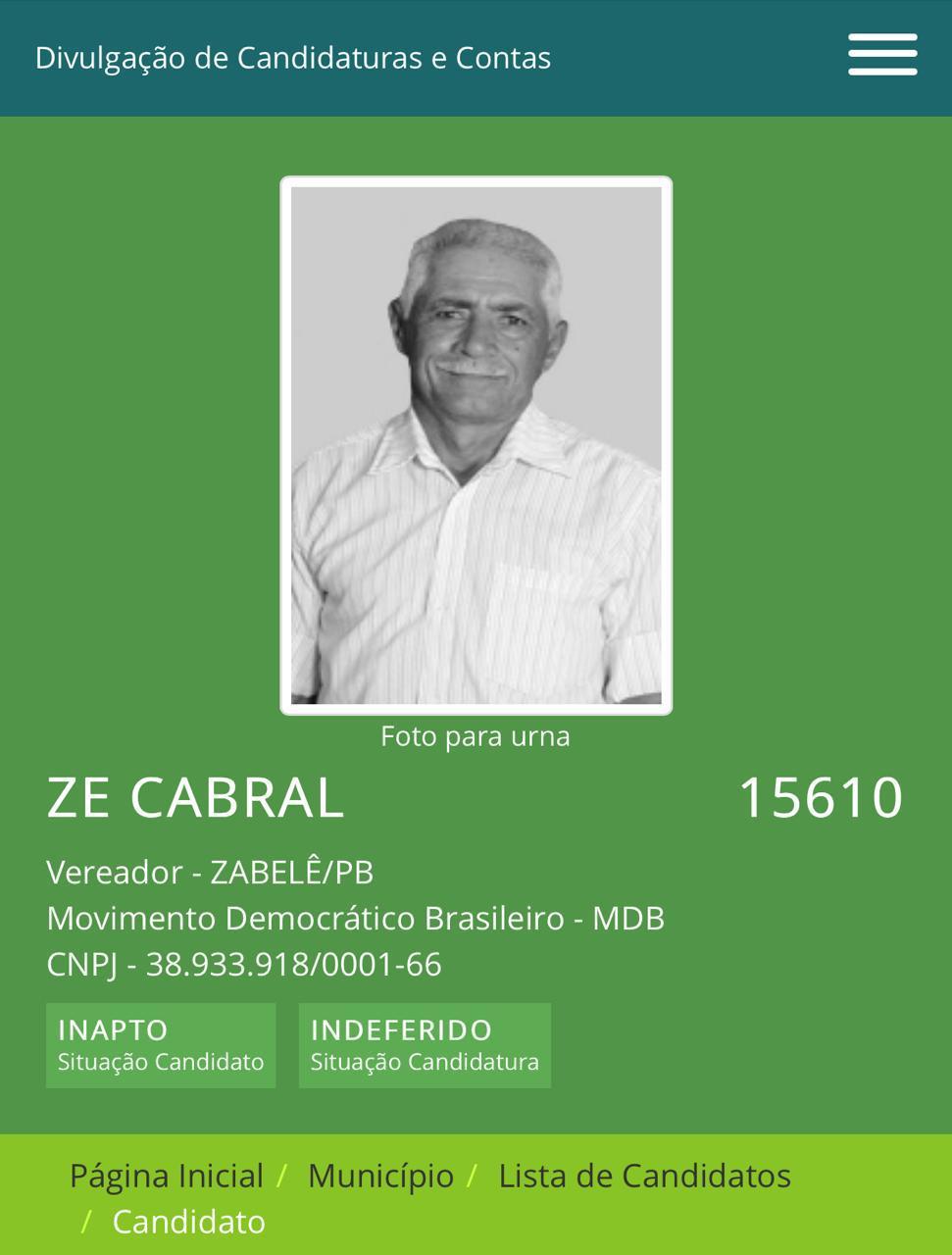 WhatsApp-Image-2020-10-20-at-10.11.18 Em Zabelê vereador tem registro de candidatura indeferido pelo TRE