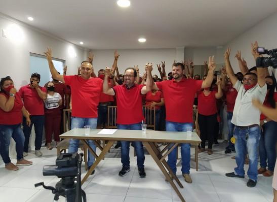 juan-jeferson Ruan e Temizinho recebem importante adesão na disputa pela Prefeitura de Sumé