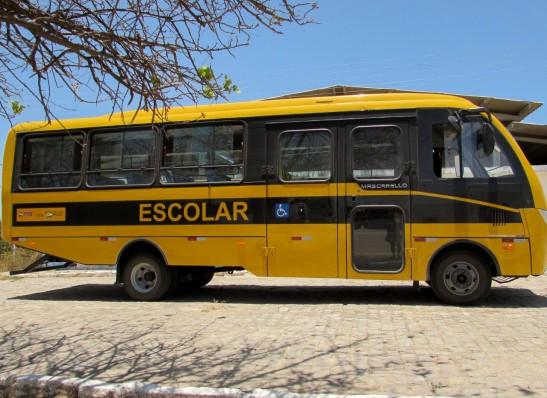 onibus-escolar São João do Tigre é contemplado com ônibus escolar através de emenda de Wellington Roberto