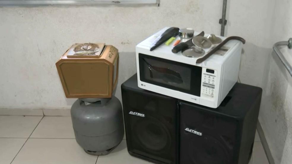 roubo-IGREJA Homem é preso em flagrante suspeito de furtar objetos de igreja na PB