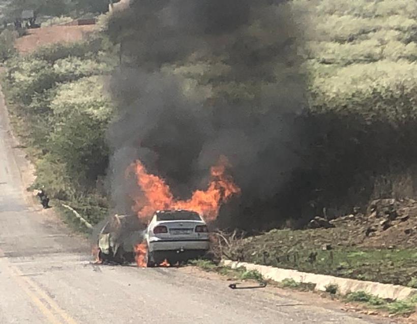 ACIDENTES-1 Quatro pessoas morrem carbonizadas após grave acidente em Teixeira, na PB