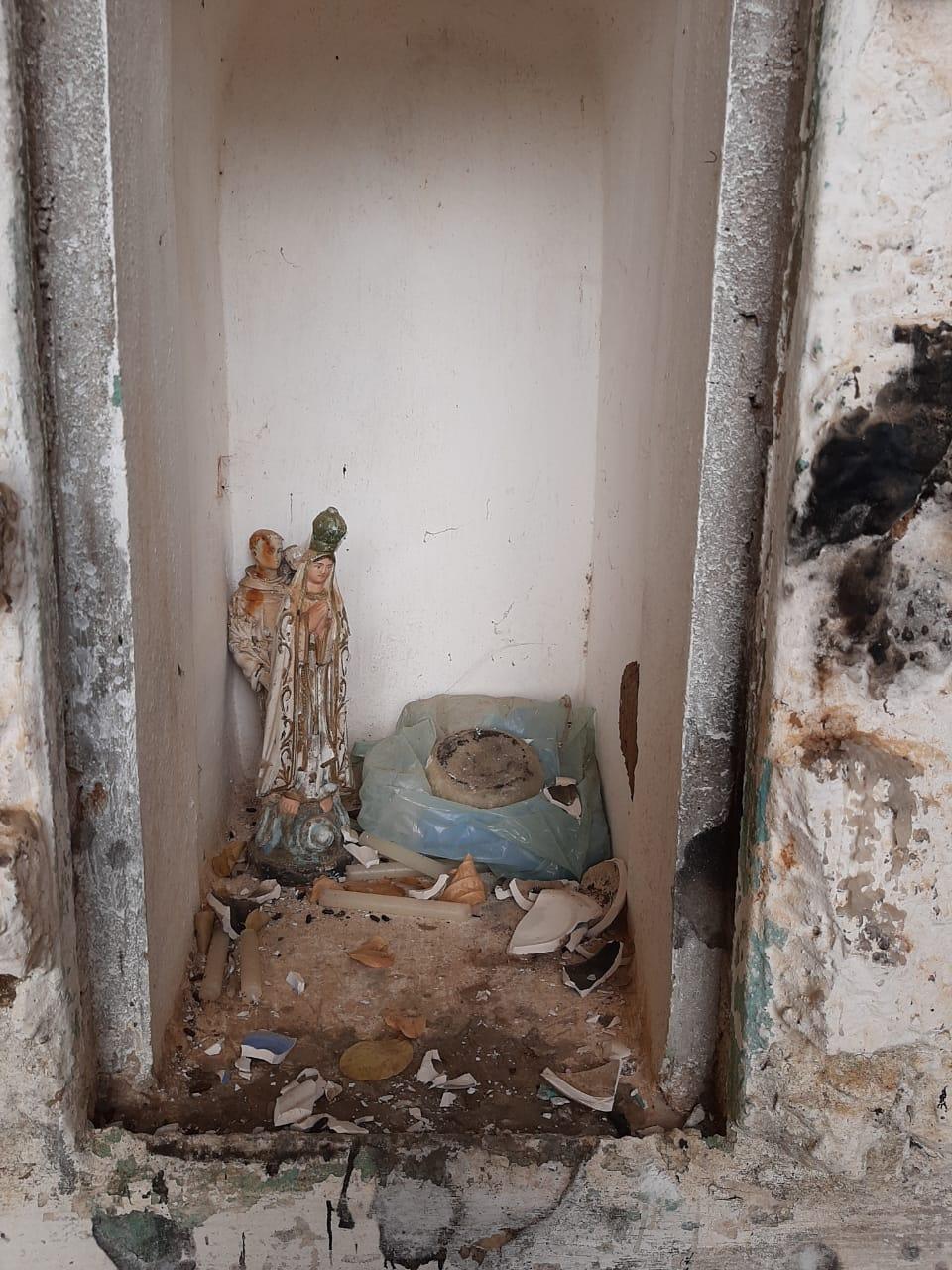 IMG-20201102-WA0309 Em Monteiro: Imagem de Nossa Senhora de Lourdes é destruída na gruta de Santa Catarina