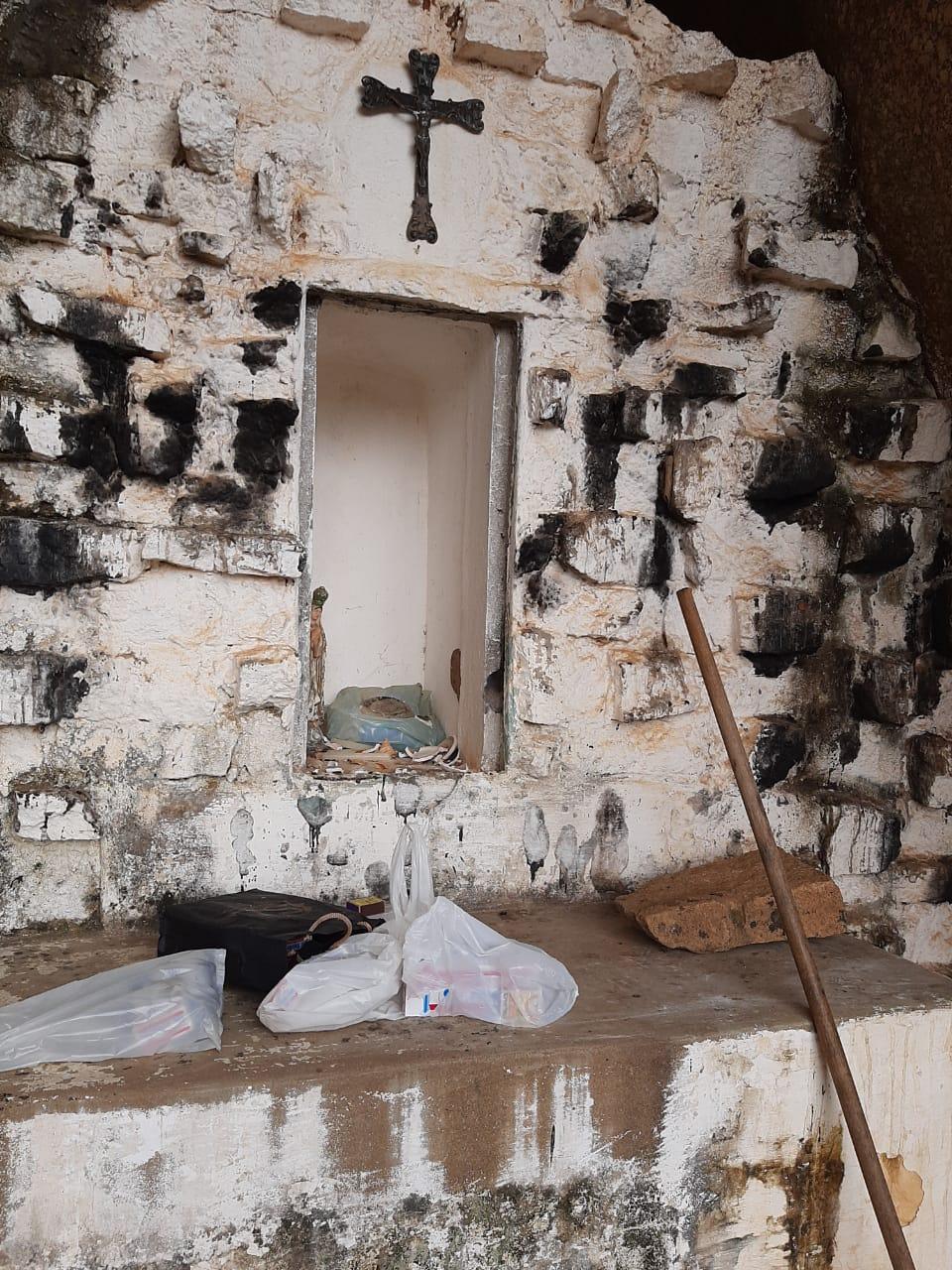 IMG-20201102-WA0314 Em Monteiro: Imagem de Nossa Senhora de Lourdes é destruída na gruta de Santa Catarina