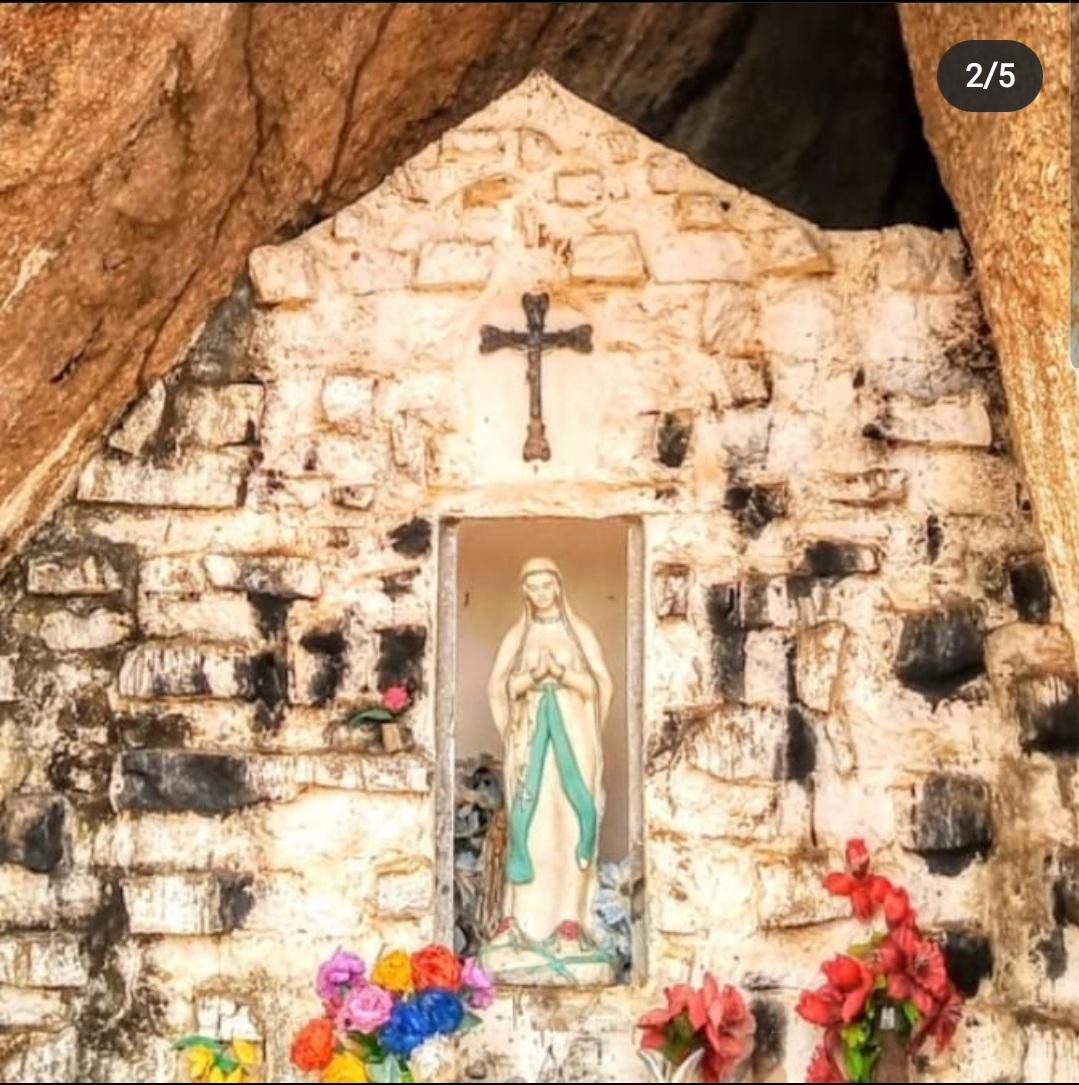 IMG-20201102-WA0316 Em Monteiro: Imagem de Nossa Senhora de Lourdes é destruída na gruta de Santa Catarina